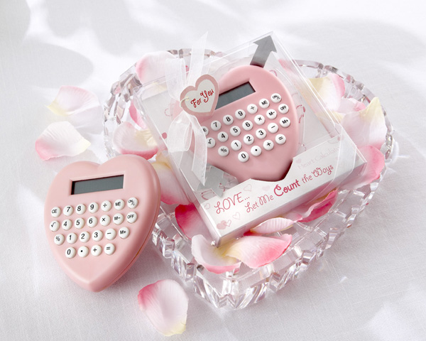 calculator_wedding_favor